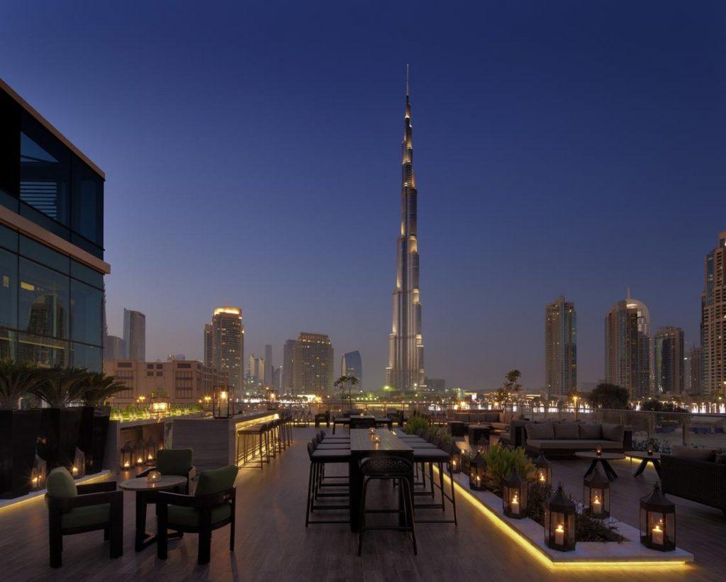 Hotel view Burj Khalifa Taj Dubai