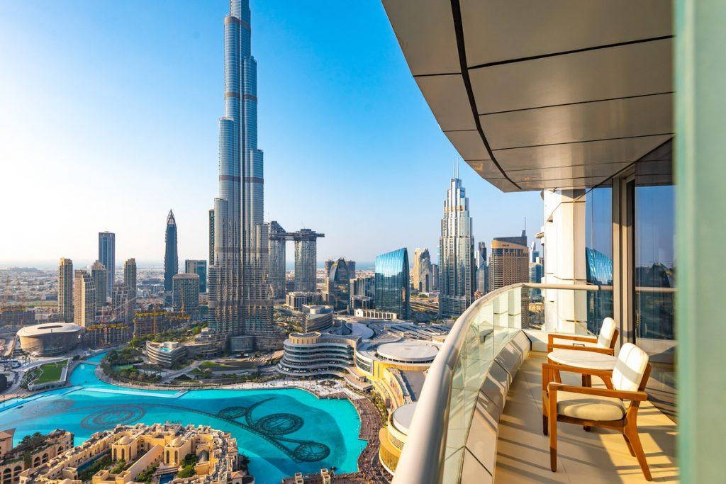 Hotel view Burj Khalifa address downtown