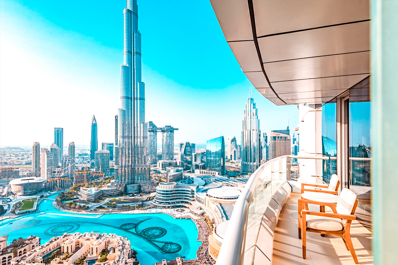 Hotels with burj khalifa view hero