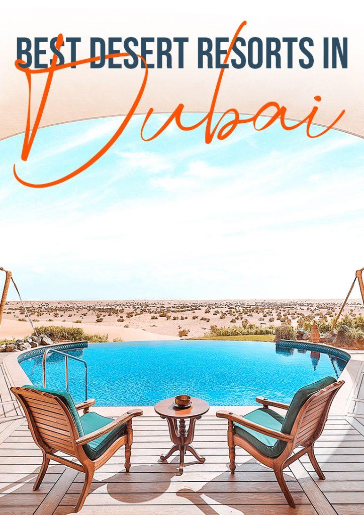 best desert resorts in dubai