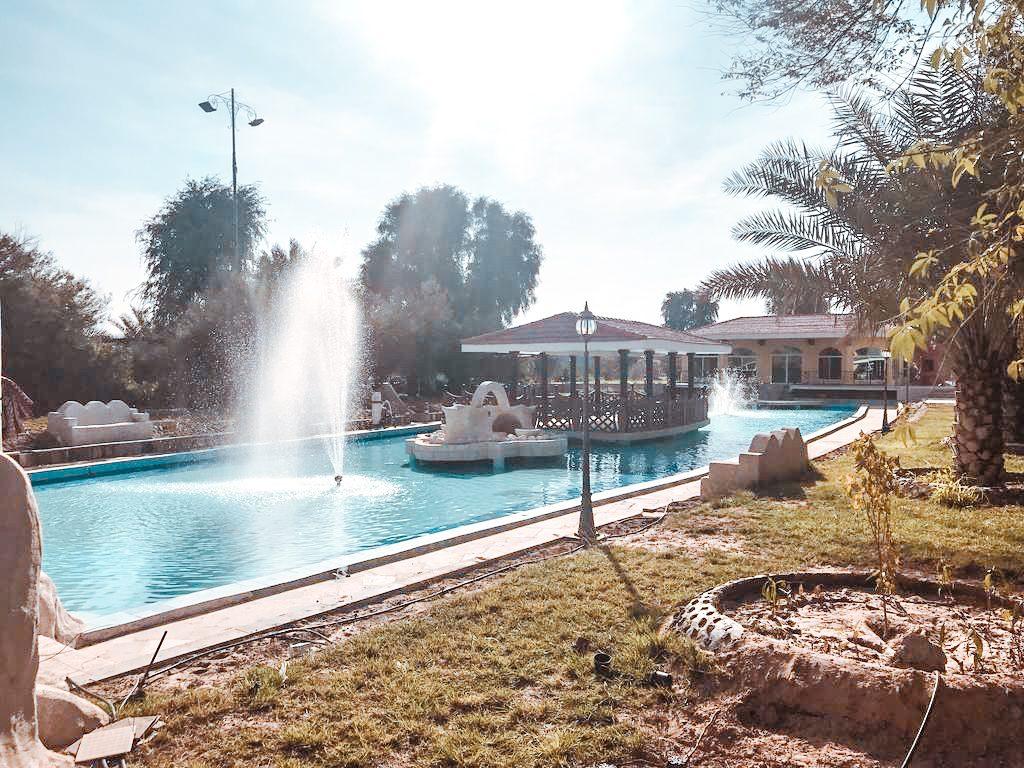 best hotels dubai desert Al Lisaili