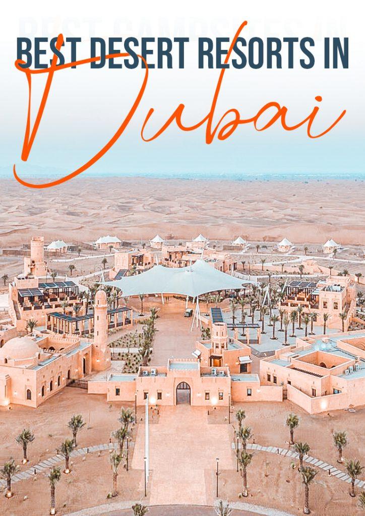 best hotels in dubai desert