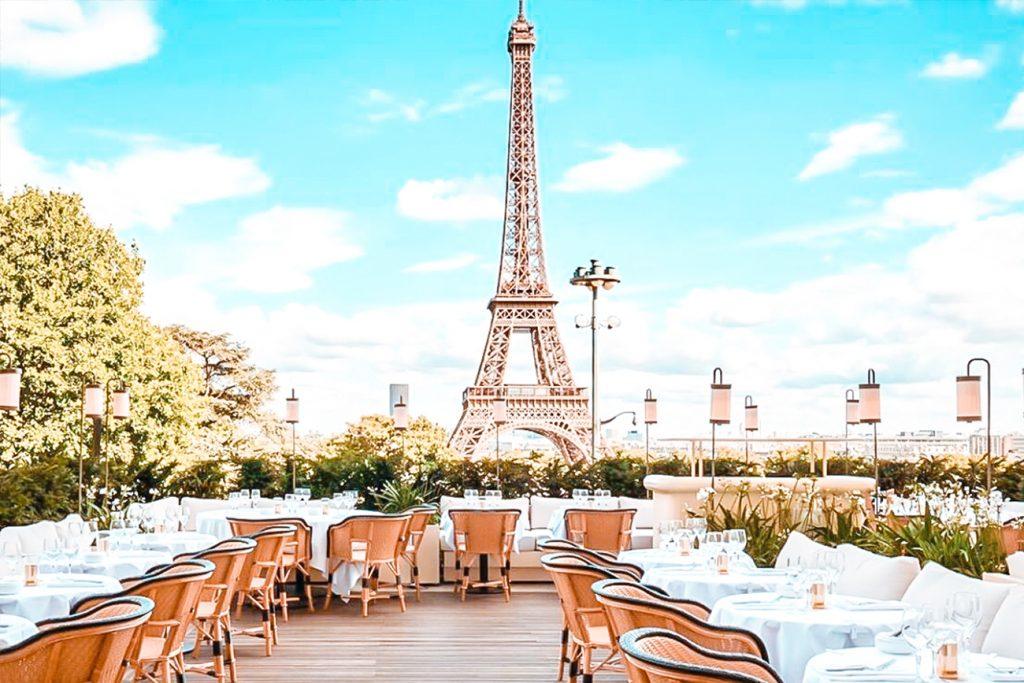 best restaurants eiffel tower view