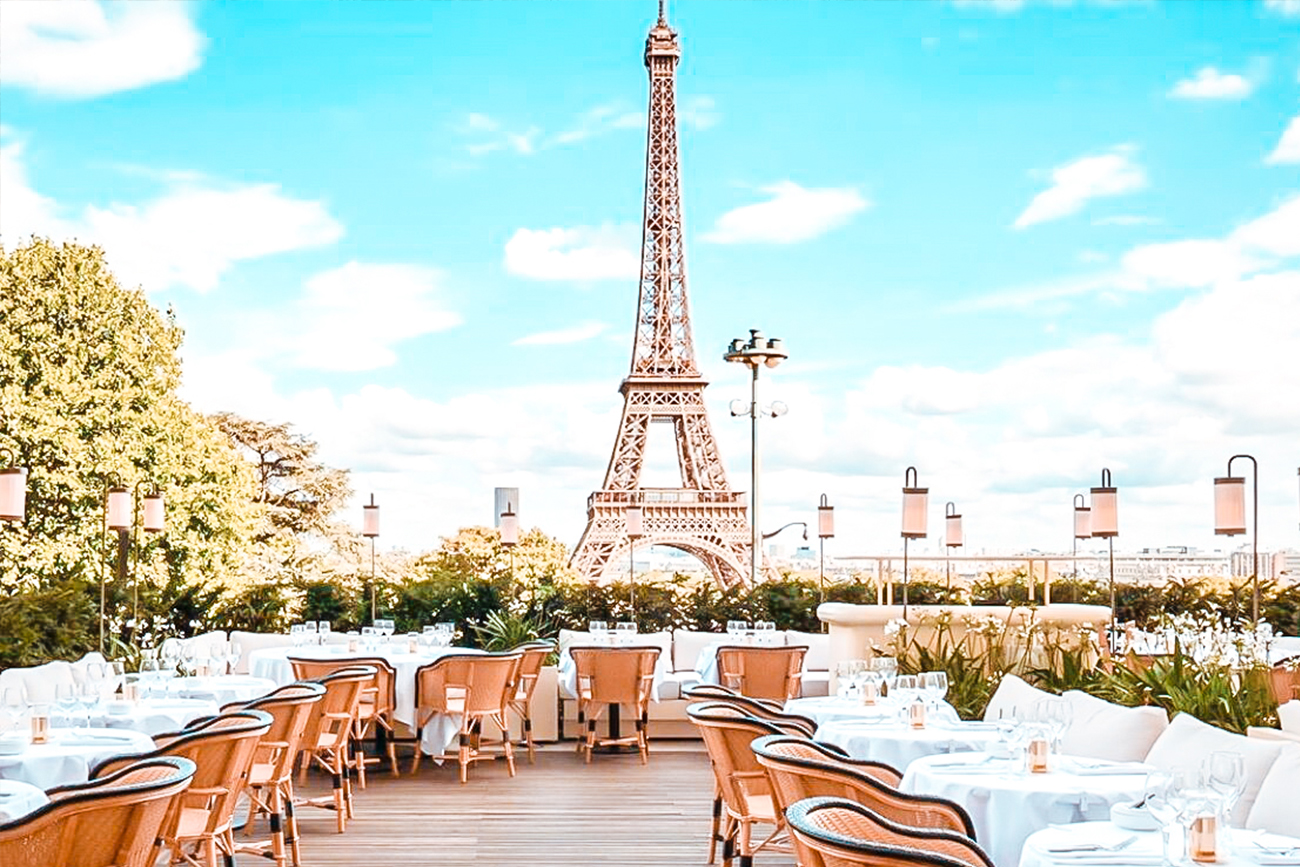 best restaurants eiffel tower view