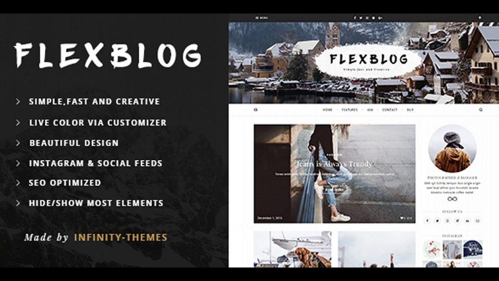 best travel blogger themes wordpress flexblog
