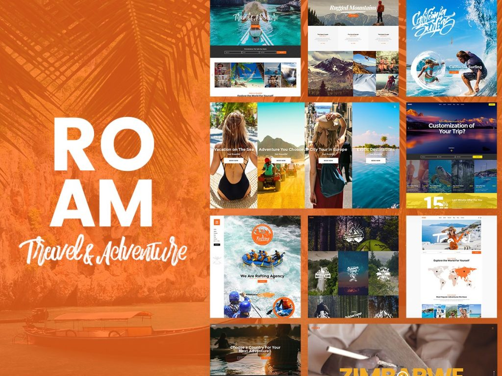 best travel blogger themes wordpress roam
