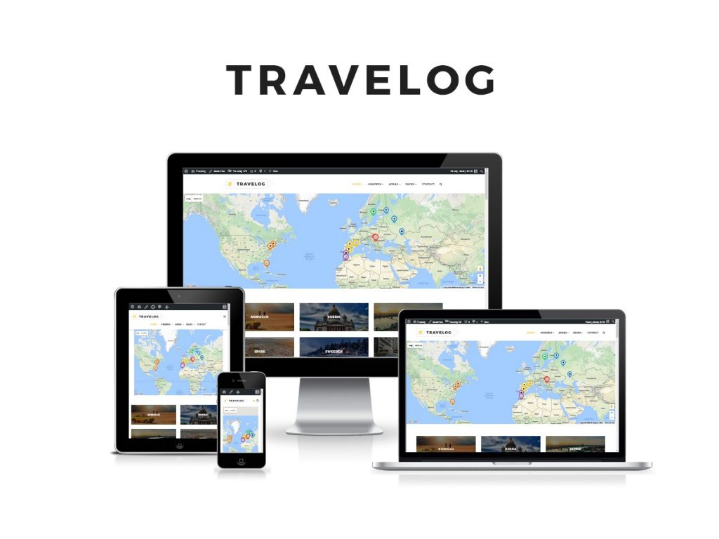 best travel blogger themes wordpress travelog