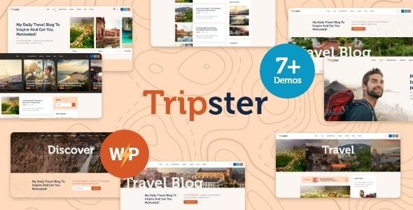 best travel blogger themes wordpress tripster