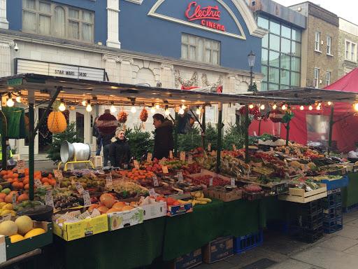 christmas in London portobello market