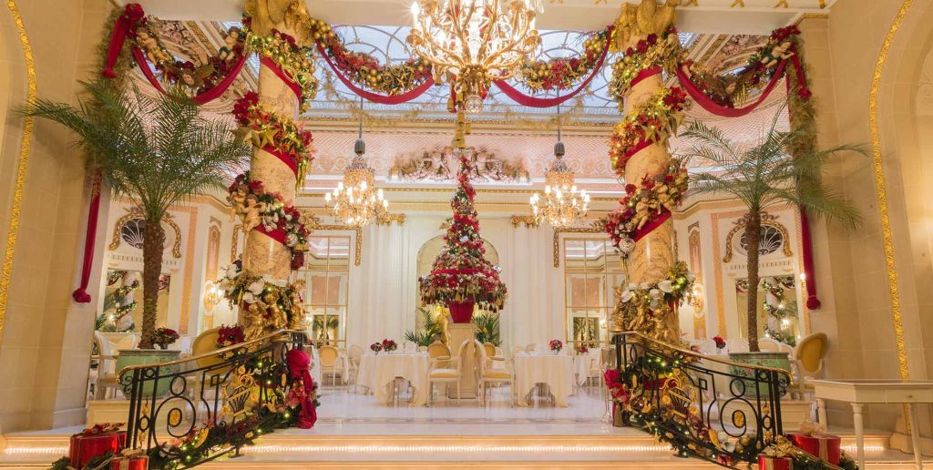 christmas in London the ritz