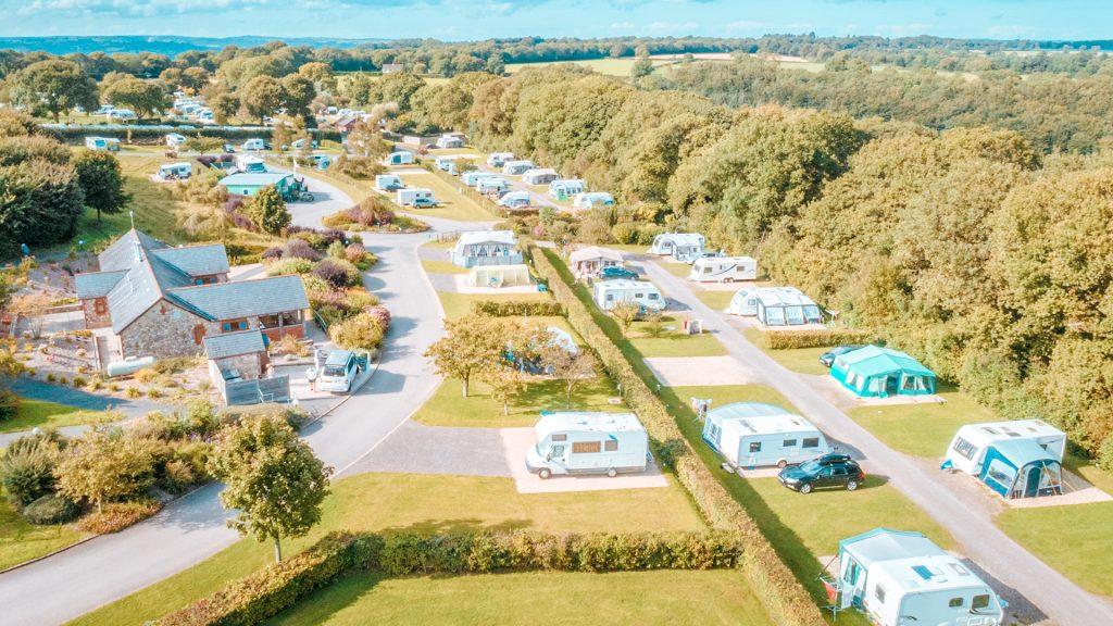 dorset campsite Monkton Wylde