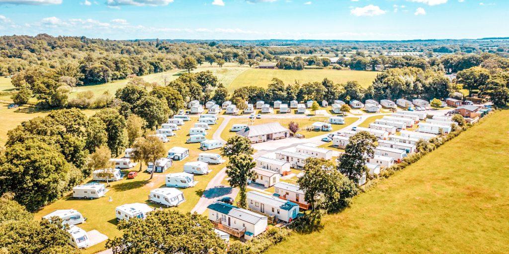 dorset campsite Sandyholme Holiday Park