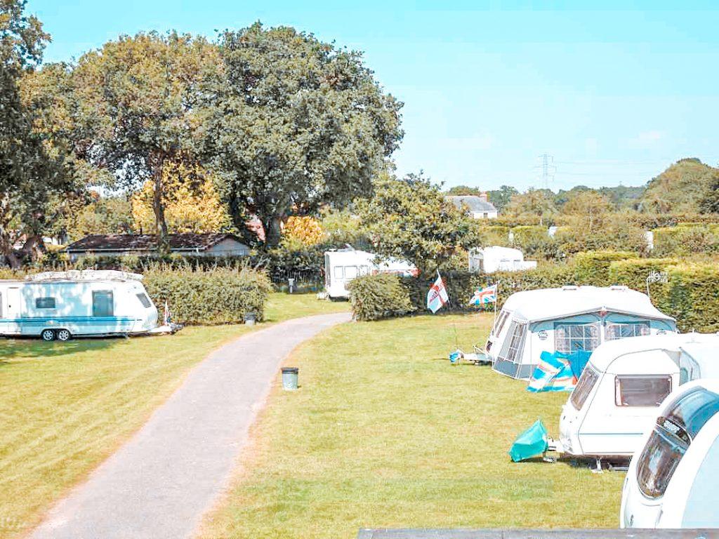 dorset campsite St Leonards Farm Caravan and Camping Park