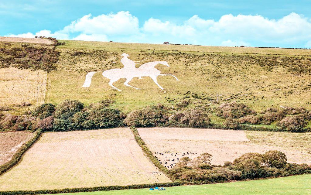 white horse campsite dorset