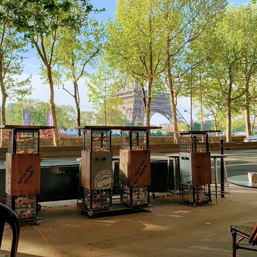 best restaurants paris with eiffel tower view le new york