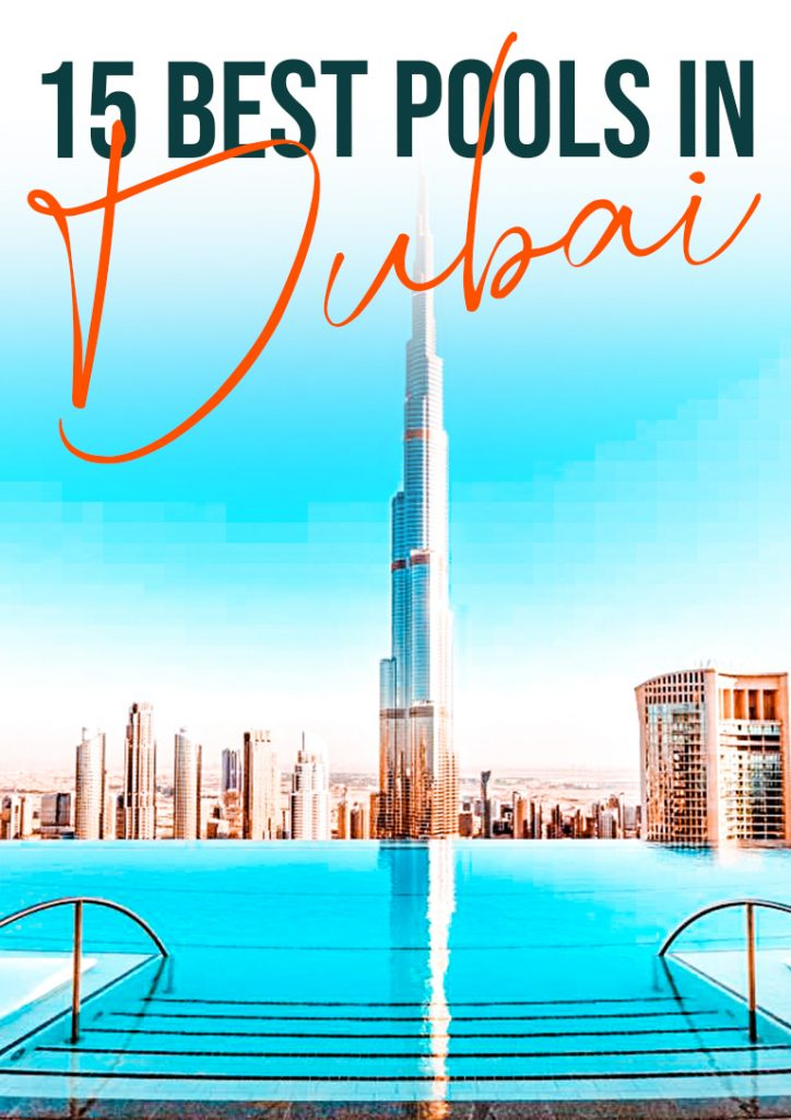 15 best pools dubai pinterest