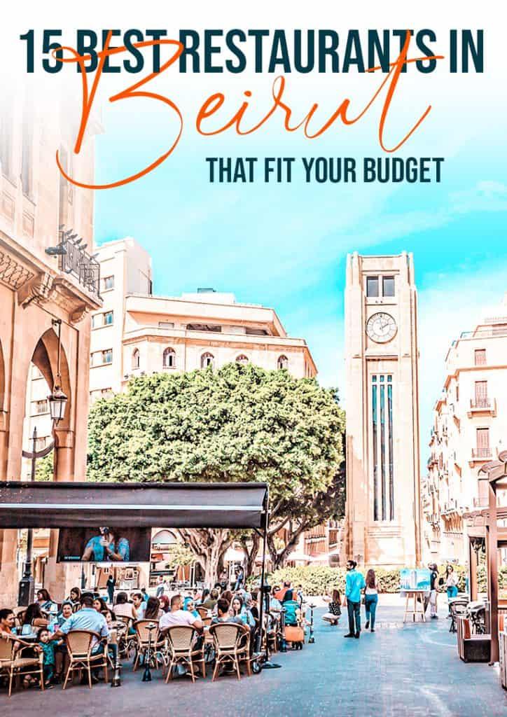 15 best restaurants in Beirut