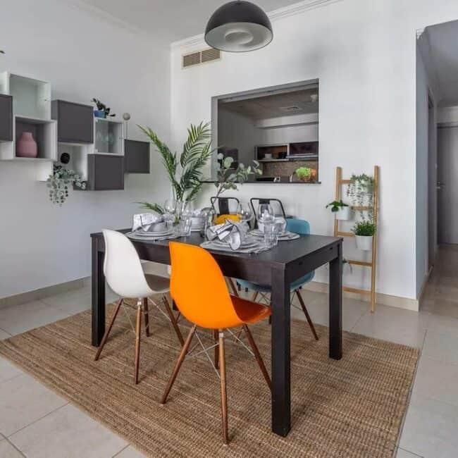 best airbnbs dubai mall stylisch dining