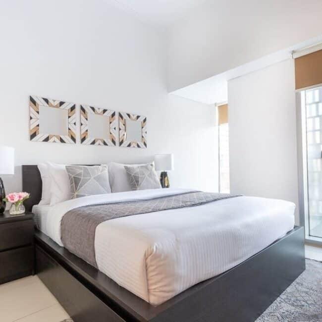best airbnbs dubai marina cayan bedroom