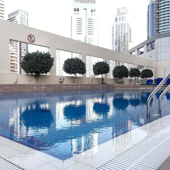 best airbnbs dubai marina charming studio pool