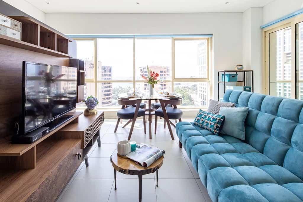 best airbnbs dubai marina charming studio