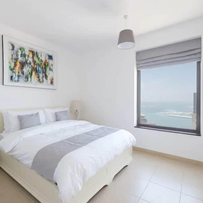best airbnbs dubai marina stunning bed
