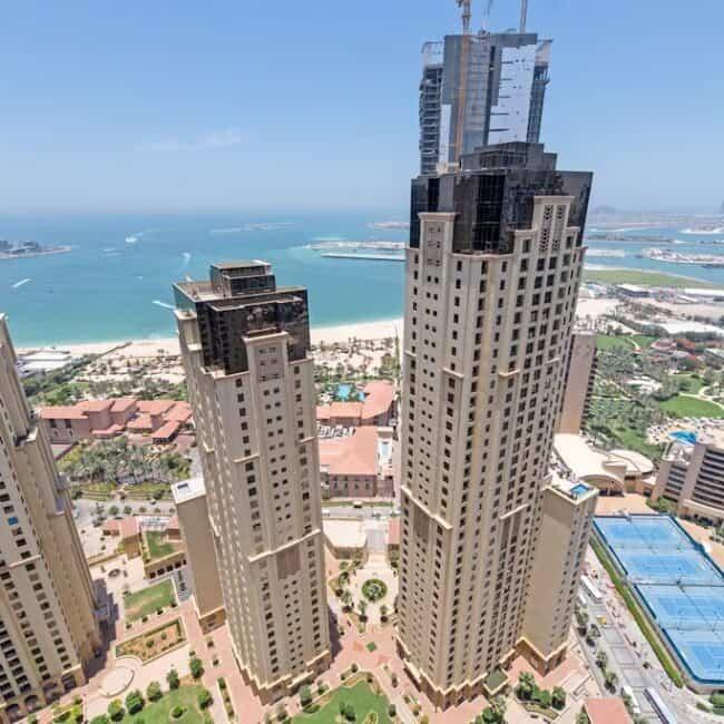 best airbnbs dubai marina stunning view