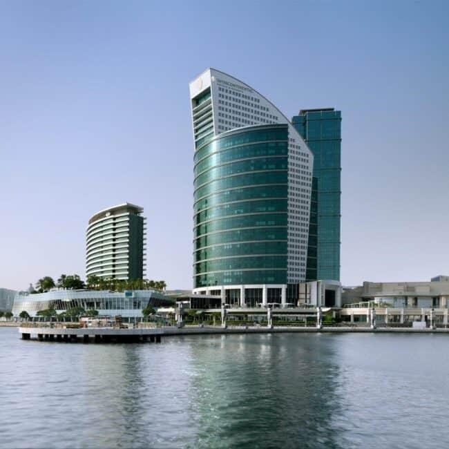 best pools dubai InterContinental Dubai Festival City