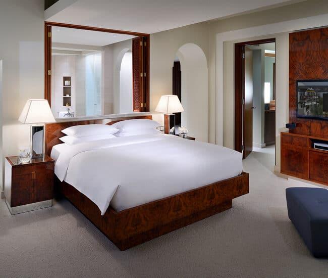 best pools dubai Park Hyatt Dubai room