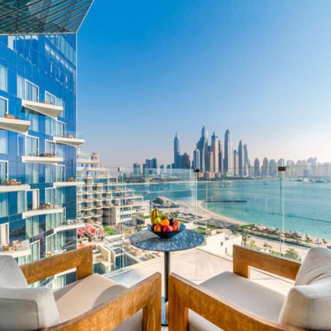 best pools dubai The Penthouse at Five Palm Jumeirah