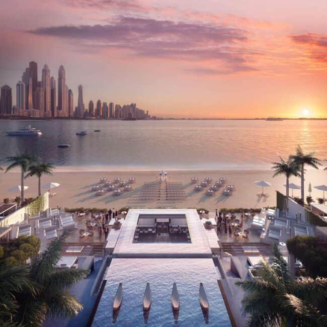 best pools dubai The Penthouse at Five Palm Jumeirah view