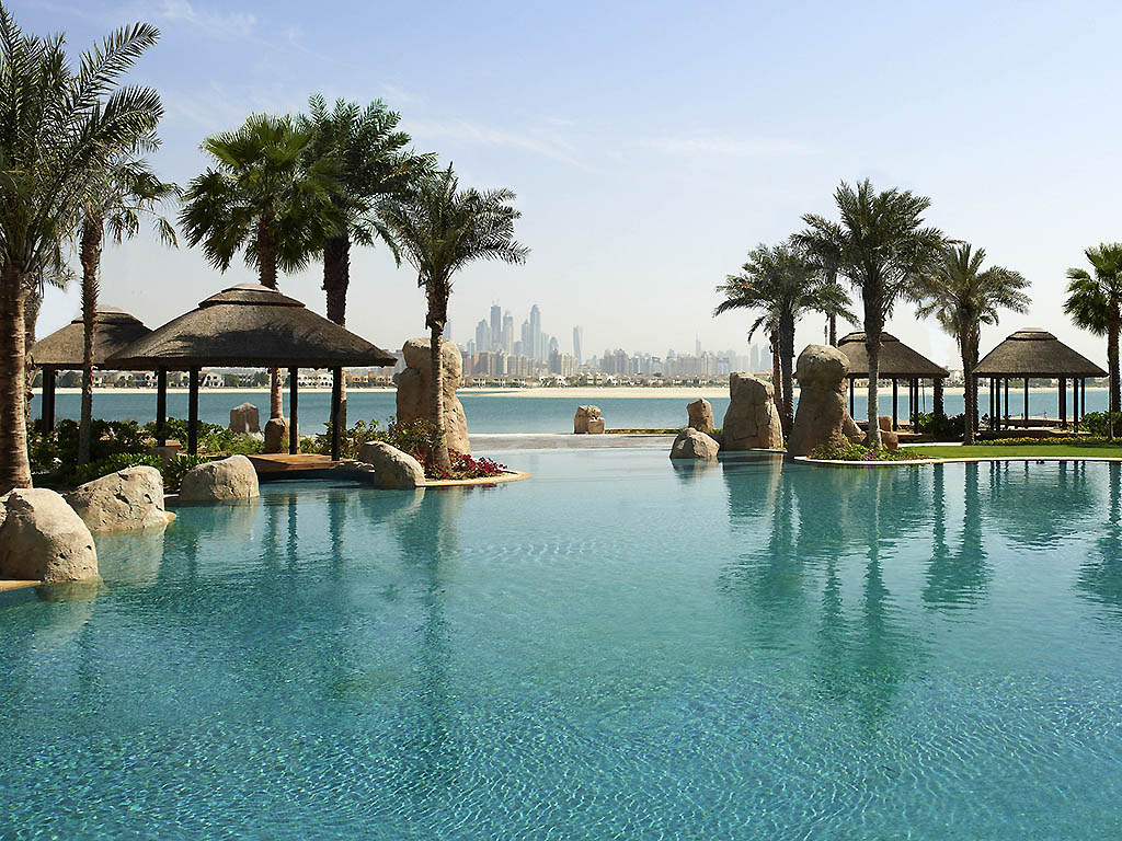Best pools dubai sofitel the palm