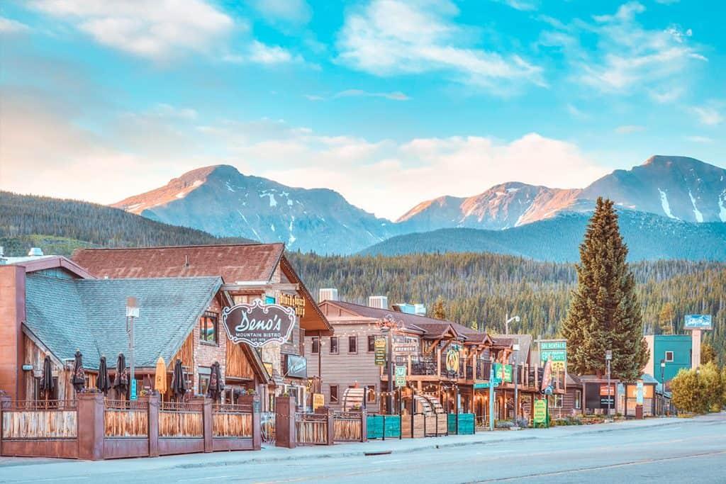 best restaurants in Winter Park Colorado hero