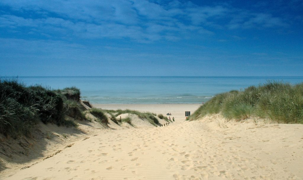 uk beautiful beaches Camber Sands Sussex
