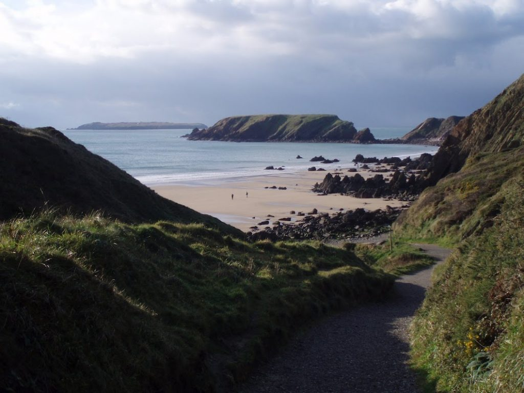 uk beautiful beaches Marloes Sands Wales