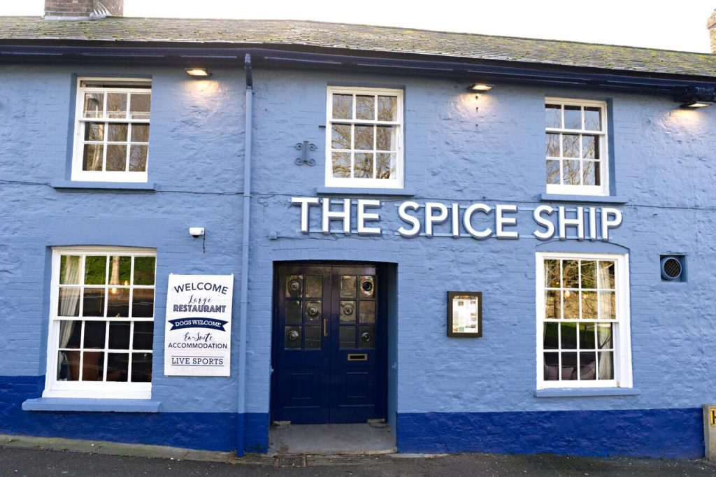 Best hotels in weymouth the spice ship
