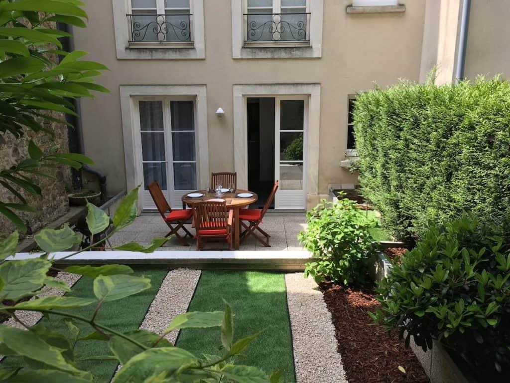 best airbnb boulogne sur mer garden terrace