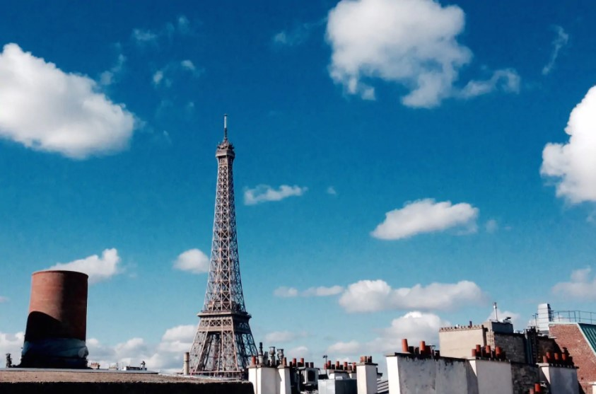 best airbnbs eiffel tower view light and airy loft