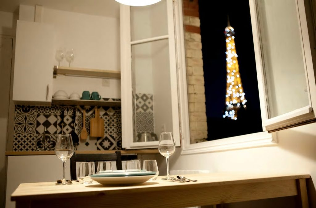 best airbnbs eiffel tower view lovely apartment