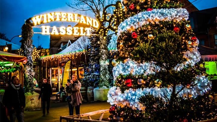 best christmas markets belgium hasselt
