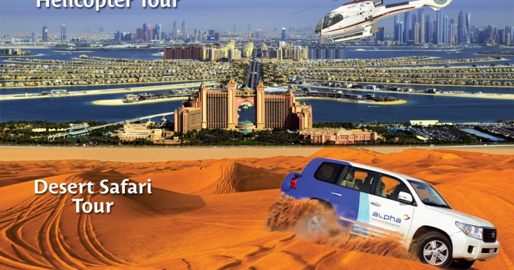 best dubai desert safari helicopter