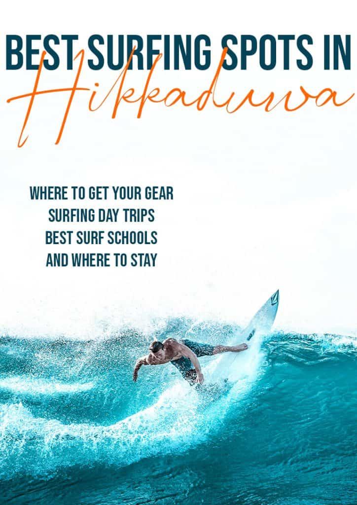 best hikkaduwa surf pinterest