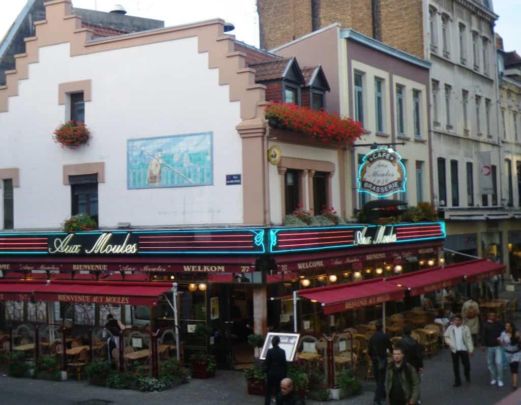 best restaurants lille Aux Moules