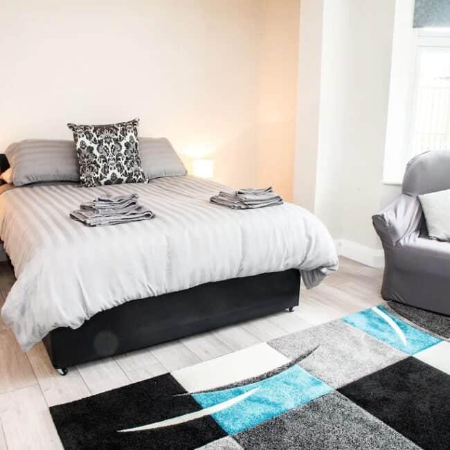 Best Airbnbs Killarney muckross road bedroom