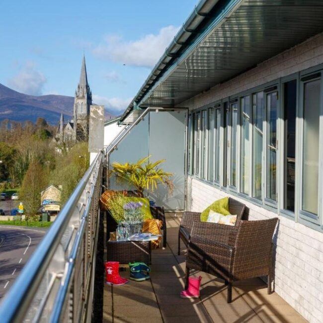 Best Airbnbs Killarney park place outside