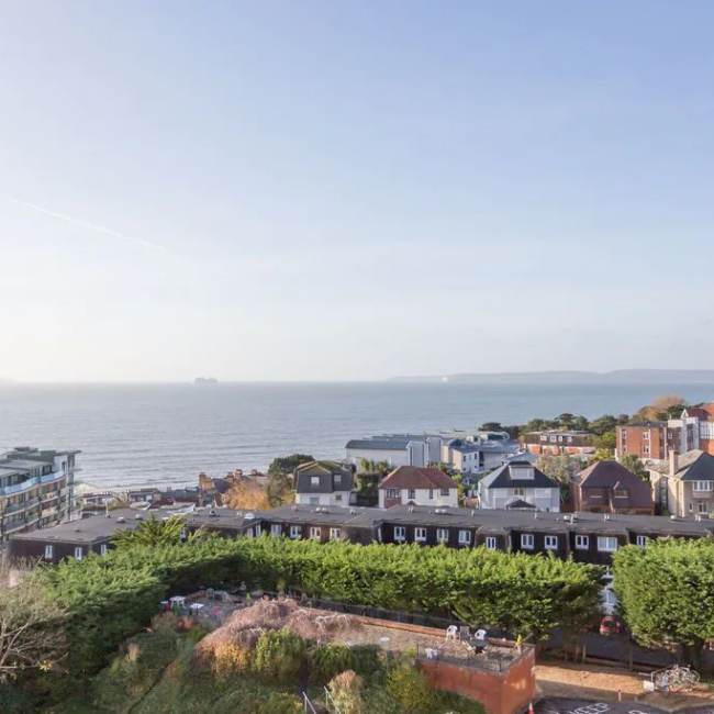 Best airbnbs in Bournemouth spectacular penthouse view