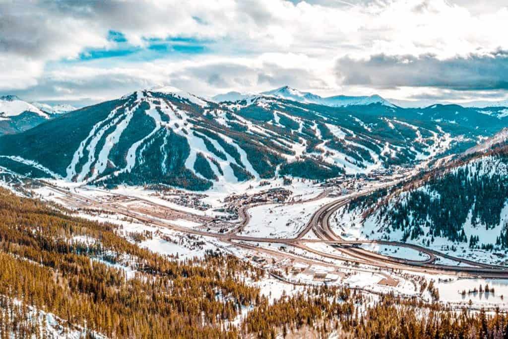 Denver to Copper Mountain Hero