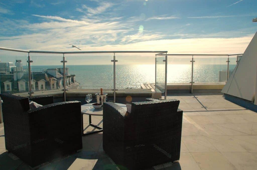 best airbnbs brighton roof terrace