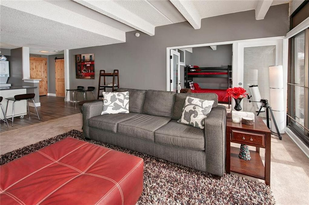 best airbnbs copper mountain Copper Wheeler Condo living room