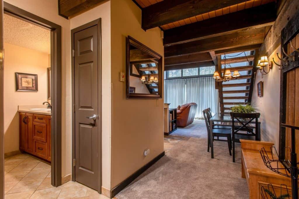 best airbnbs copper mountain Ski in Ski out Duplex inside